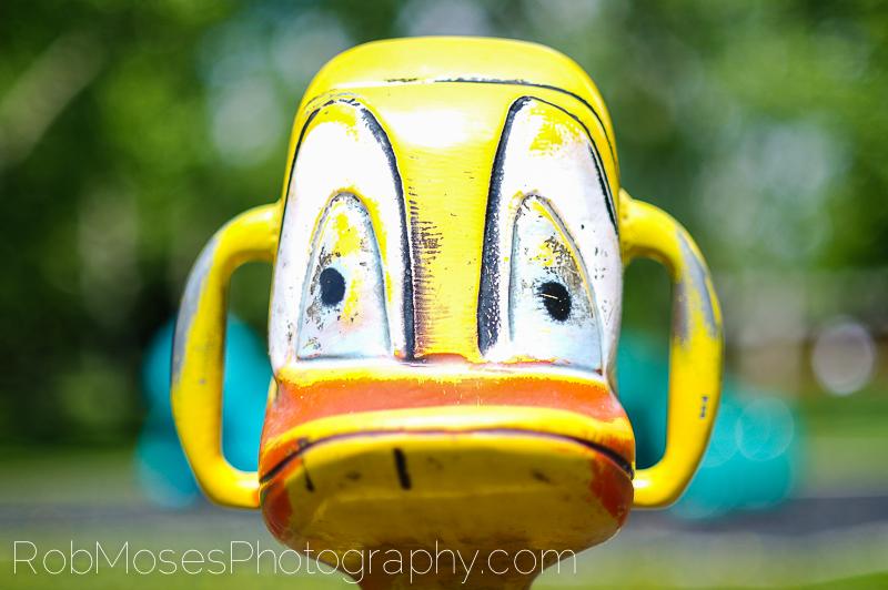 1 Sad Duck playground toy Calgary Canada - Rob Moses Photography 50mm 1.4 nx100