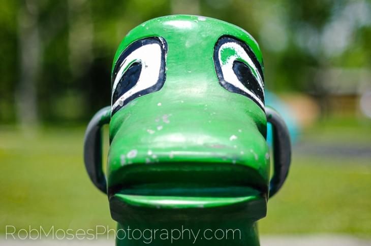 2 Sad Duck playground toy Calgary Canada - Rob Moses Photography 50mm 1.4 nx100