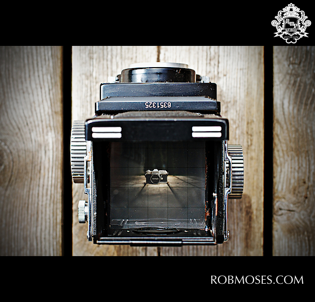 TLR Seagull Celebrity - Canon Pellix Famous - Rob Moses Photography
