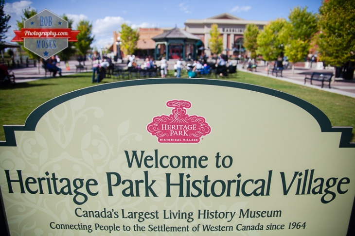 1 Heritage Park Calgary Alberta Canada - Rob Moses Photography - sign