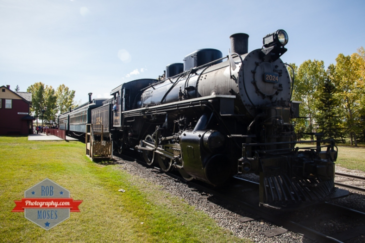 16 Heritage Park Calgary Alberta Canada - Rob Moses Photography old steam engine train