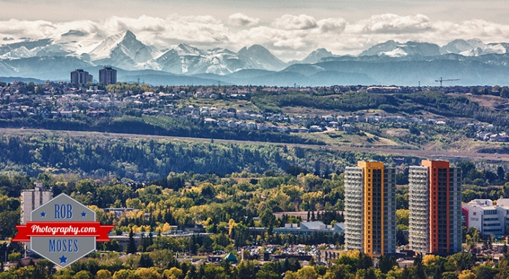 RS NW SW One frame HDR Calgary & Rocky Mountains Canada - Rob Moses Photography