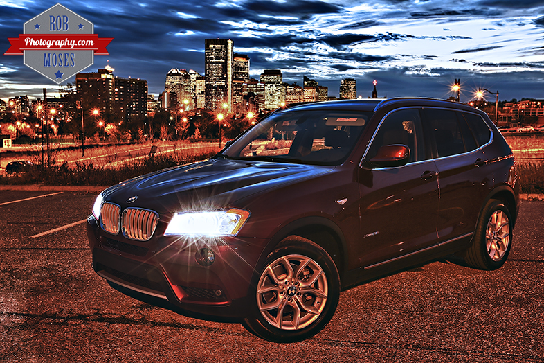 2014 BMW X3 Calgary Canada City Skyline Urban - Rob Moses Photography