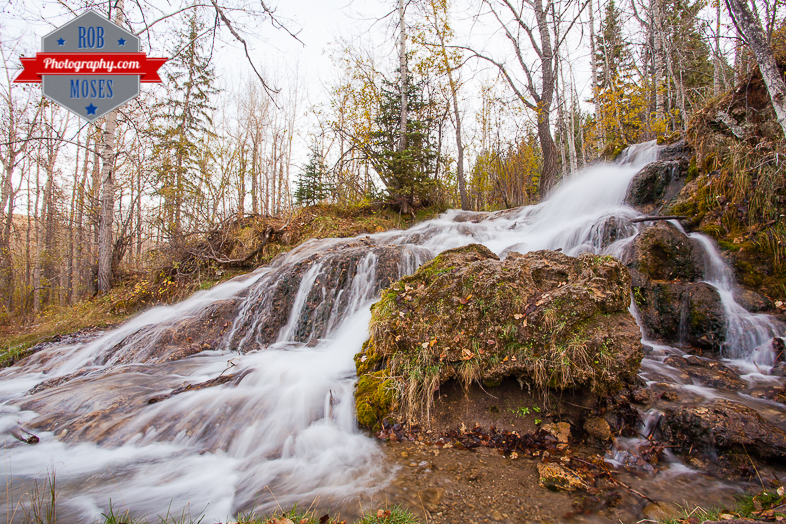 Alberta Country Waterfall famous Canada nature landscape - Rob Moses Photography - Photographer 1
