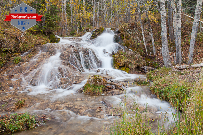 Alberta Country Waterfall famous Canada nature landscape - Rob Moses Photography - Photographer 2.2