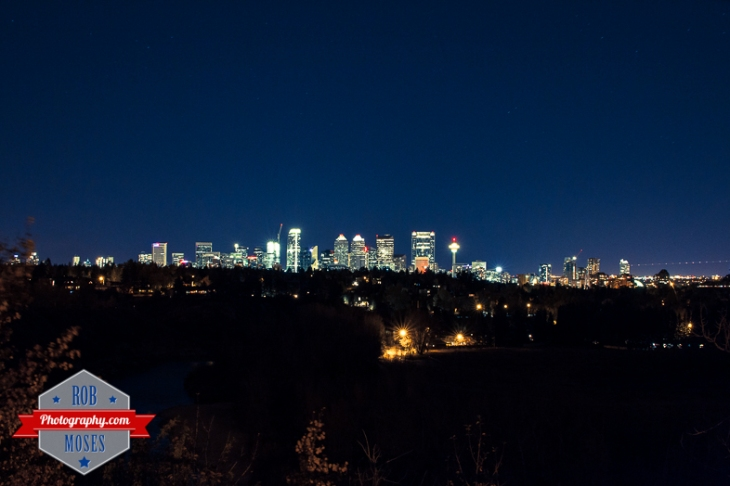 Calgary Alberta far famous Canadian skyline south 50mm Sigma Bigma 50-500mm - Rob Moses Photography - Photographer city