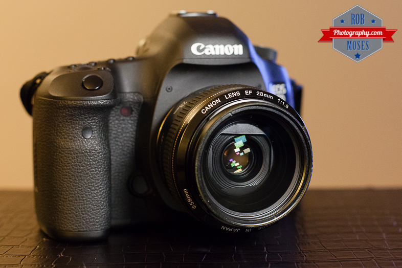 Canon 5Diii 5D3 5D mark iii famous 28mm 1.8 prime lens - Rob Moses Photography