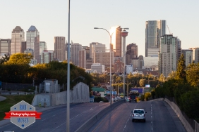 Street City Skyline Calgary Canada - Rob Moses Photography