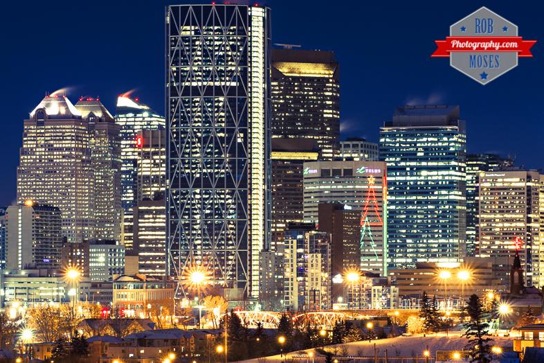 Calgary Alberta Canada Famous Metro Urban Skyline - Rob Moses Photography - Big City Buildings Skyscrapers Skyscraper - Photographer