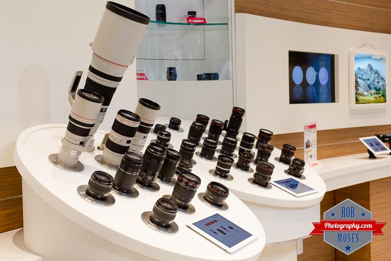 1 Canon Image Square Calgary Alberta Canada - Rob Moses Photography - Famous lenses - Photographer