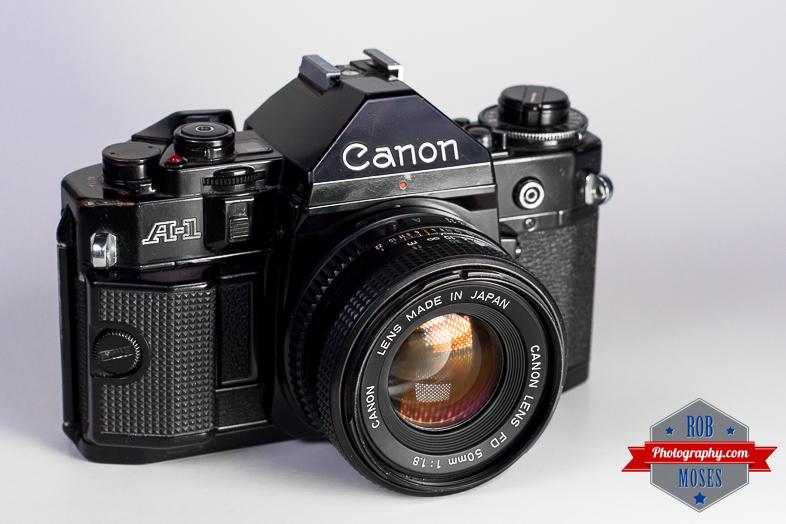 & Canon A-1   Rob Moses Photography