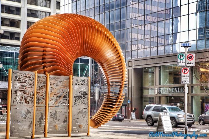 Calgary Alberta Canada Street Art famous sculpture - Rob Moses Photography - Vancouver Seattle Washington Photographer Photographers