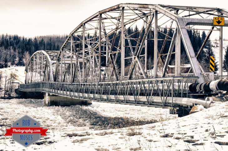 Cochrane Alberta Canada Famous Old Iron Bridge Country Art River - Rob Moses Photography - Calgary Seattle Vancouver Photographer Photographers-1-2
