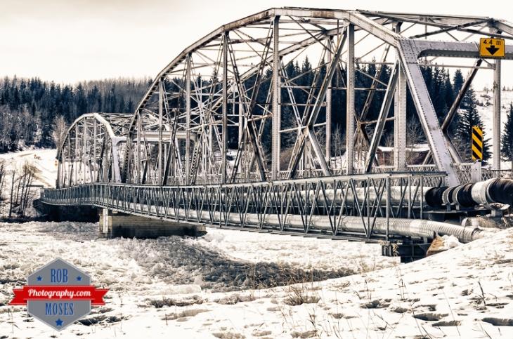Cochrane Alberta Canada Famous Old Iron Bridge Country Art River - Rob Moses Photography - Calgary Seattle Vancouver Photographer Photographers-1-2