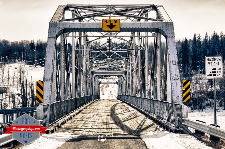 Cochrane Alberta Canada Famous Old Iron Bridge Country Art River - Rob Moses Photography - Calgary Seattle Vancouver Photographer Photographers-1