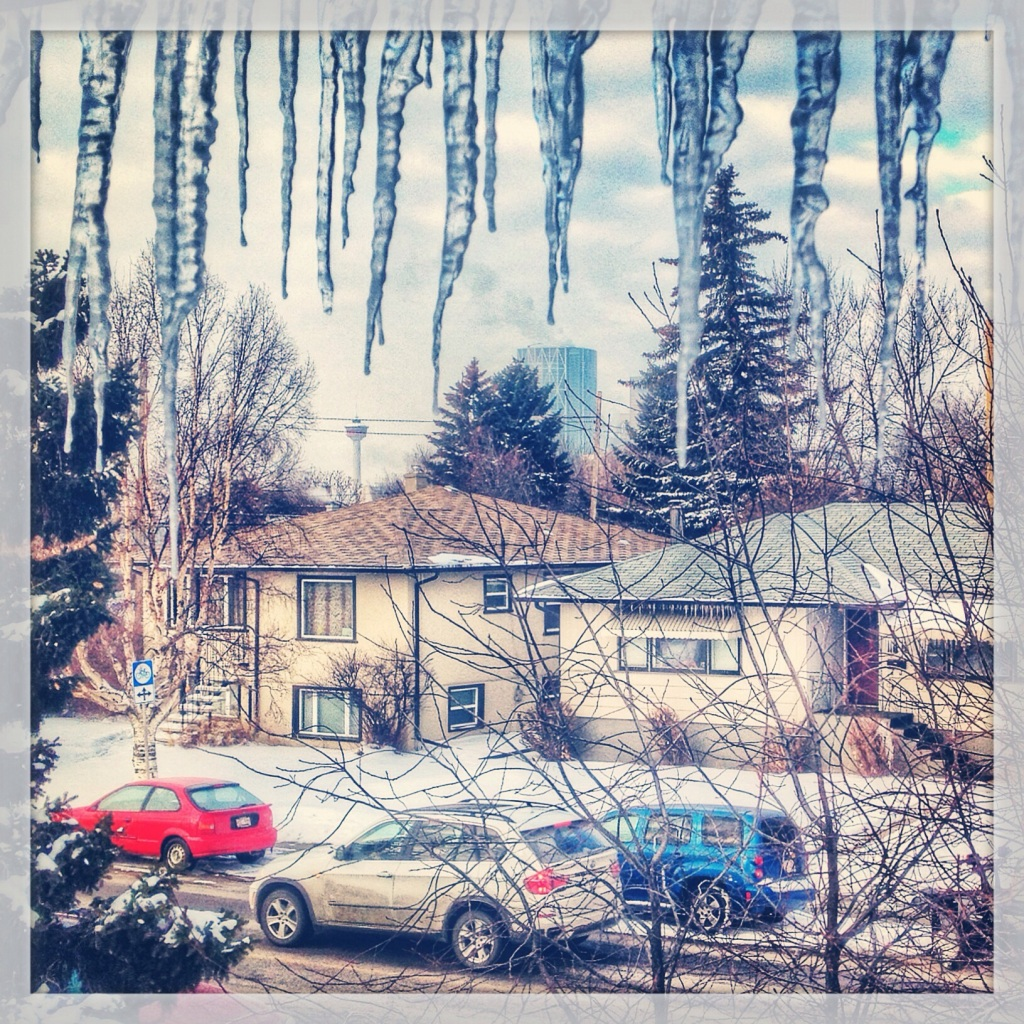 Calgary Alberta Canada Icicles houses Bow Tower BMW - Rob Moses Photography - Instagram iphone - Vancouver Seattle Photographer.jpg
