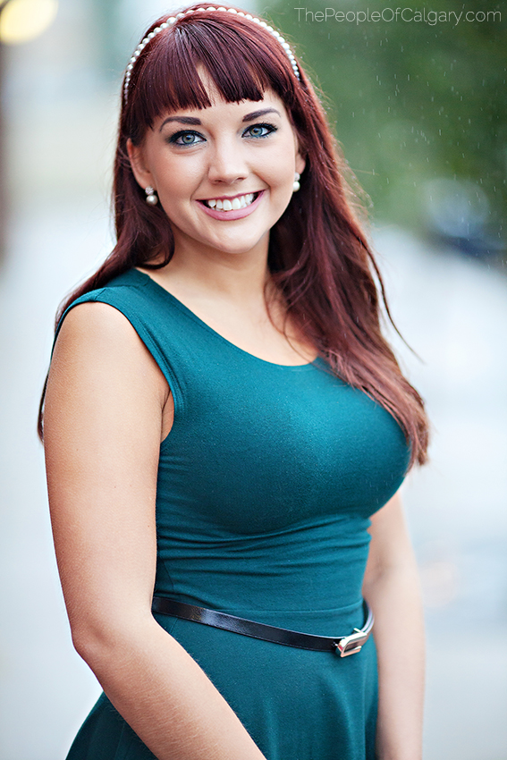 Vrs Madison Simituk People of Calgary woman girl beautiful pretty stunning bokeh red hair gorgeous attractive - Rob Moses Photography Photographer