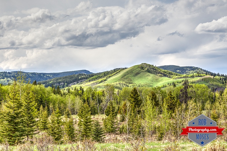 Alberta Country Landscape hills sky clouds yyc nature natural - Rob Moses Photography - Seattle Vancouver Calgary Photographer Native American Photographers top famous best popular