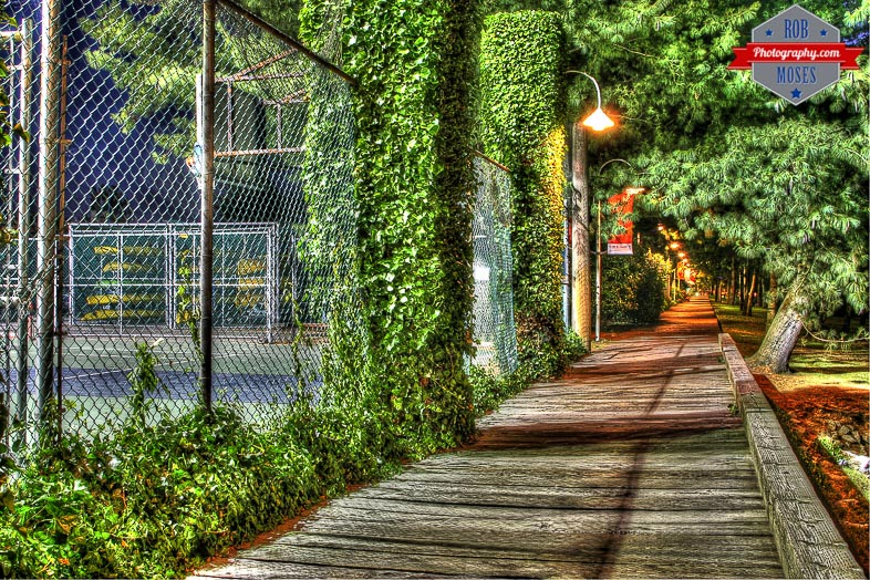Blogger Vancouver Granville Island BC Canada night path HDR nature - Rob Moses Photography - Seattle Vancouver Calgary Photographer Native American Photographers-2