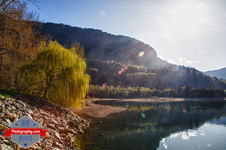 Castlegar British Columbia River Mountain trees landscape - Rob Moses Photography - Seattle Vancouver Calgary Photographer