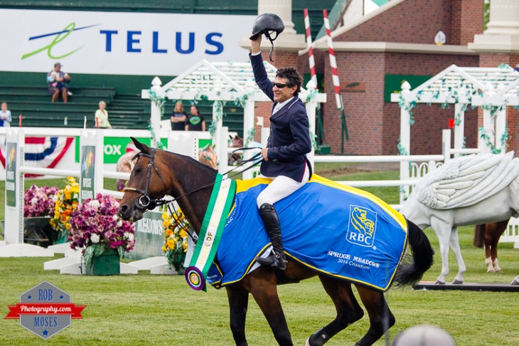 Jaime Azcarraga Winner - Spruce Meadows Horse Jumping jump ride riding RBC - Rob Moses Photography - Seattle Vancouver Calgary Photographer Native American Photographers top famous best popular-6