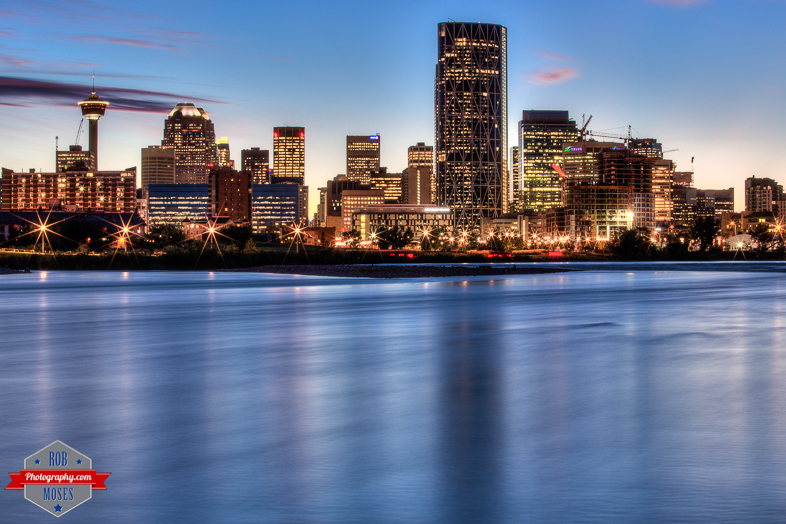 Blog YYC bow river water skyline city sky alberta beautiful - Rob Moses Photography - Vancouver Seattle Calgary Photographer Photographer Native American Famous Tlingit Ojibawa Top Popular Best Canadian Lifestyle