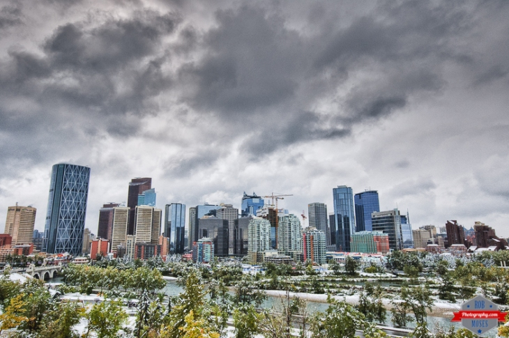 YYC Winter blast summer 2014 sky skyline urban city - Rob Moses Photography - Native American Alaskan Famous Tlingit - Seattle Top Vancouver Photographer Popular Photographers