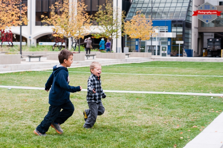 boys running brothers children play playing yyc - Rob Moses Photography - Vancouver Seattle Calgary Photographer Photographers Native American Famous Tlingit Ojibawa Top Popular Best Good Canadian Awesome Lifestyle