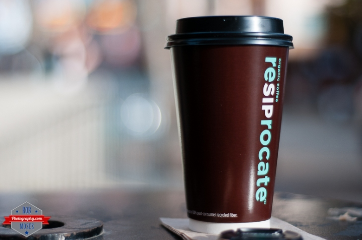 Coffee cup shop resiprocate organic coffee yyc bokeh blur - Rob Moses Photography - Vancouver Seattle Calgary Photographer Photographers Native American Famous Tlingit Ojibawa Top Popular Best Good Canadian Awesome Lifestyle-3