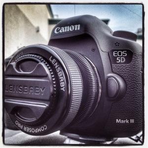 Canon 5D mark iii & Lensbaby Sweet 35
