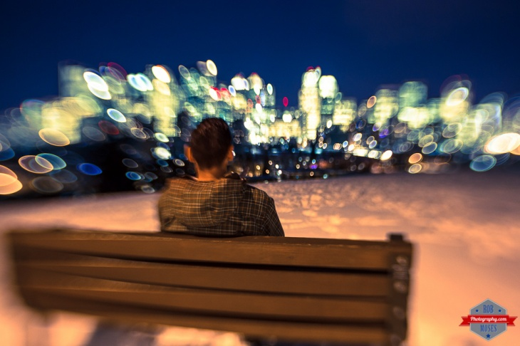LensBaby Sweet 35 35mm Canon 5D mark iii crazy lens bokeh yyc skyline Rob Moses Photography Calgary Photographer Photographers Native American Famous un celebrity Tlingit Ojibawa Top Popular Best Good Canadian on sitting bench