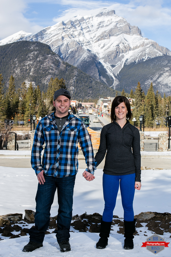 Ryan Kelsey couple portrait Banff  Rocky Mountains - Rob Moses Photography Calgary Photographer Photographers Native American Famous un celebrity Tlingit Ojibawa Top Popular Best Good Canadian 7