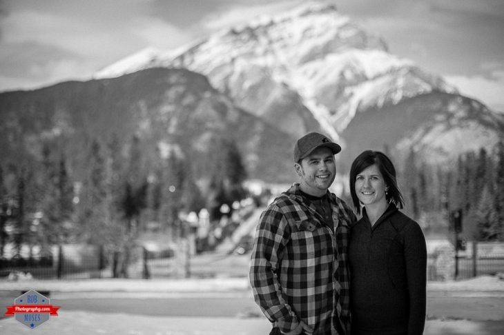 Ryan Kelsey couple portrait Banff  Rocky Mountains - Rob Moses Photography Calgary Photographer Photographers Native American Famous un celebrity Tlingit Ojibawa Top Popular Best Good Canadian 4