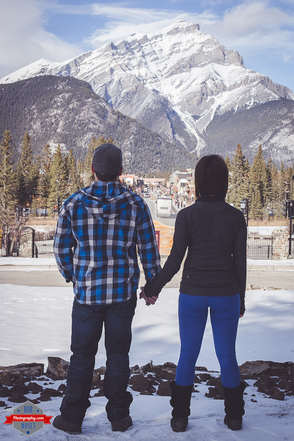 Ryan Kelsey couple portrait Banff  Rocky Mountains - Rob Moses Photography Calgary Photographer Photographers Native American Famous un celebrity Tlingit Ojibawa Top Popular Best Good Canadian 6