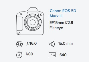 5D mark iii 15mm fisheye exif data rob moses photography