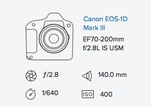 Canon 1D mark iii exif data Rob Moses