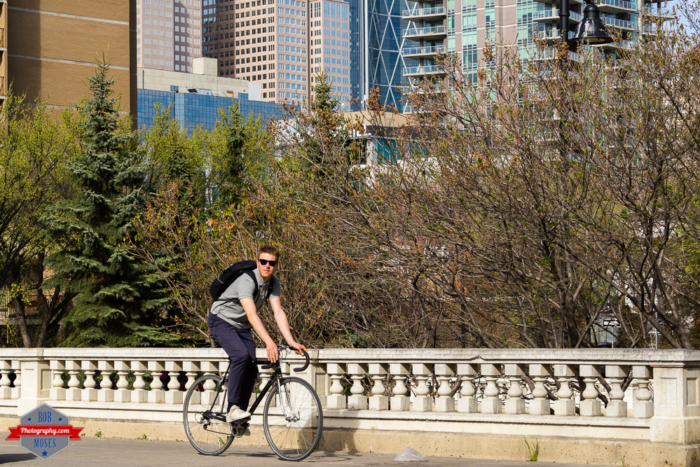 YYC Beaulieu Gardens man hipster bike fixie shades sunny sun spring Rob Moses Photography Calgary Photographer Photographers Native American Famous un celebrity Tlingit Ojibawa Top Popular Best Good Canadian street