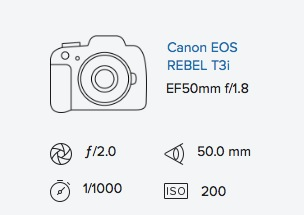 Canon t3i 50mm 1.8 mk i mark 1 info Rob Moses