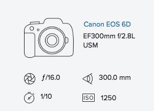 Rob Moses Exif data 6d 300mm 2.8