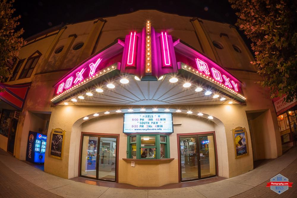 Roxy Movie Theatre Revelstoke BC vintage retro sign Rob Moses Photography Calgary Photographer Photographers Native American Famous un celebrity Tlingit Ojibawa Top Popular Best Good Canadian Beautiful