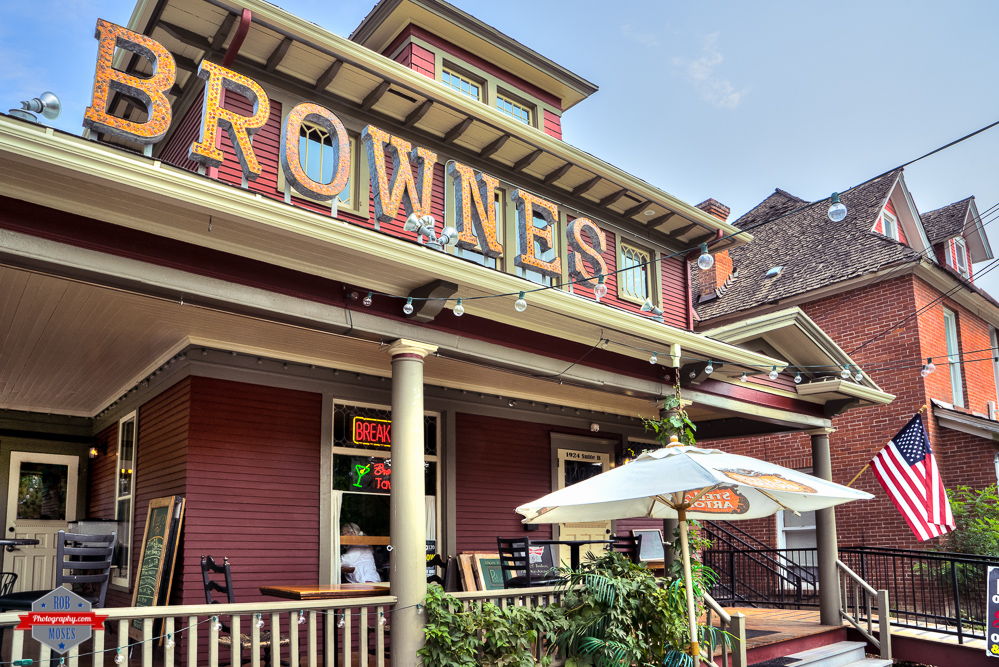 Browns Tavern Spokane Washington WA restaurant bar grill Addition Rob Moses Photography Calgary Photographer Photographers Native American Famous un celebrity Tlingit Ojibawa Top Popular Best Good Canadian penny pennies sign