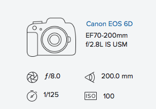 exif data rob moses Canon 6D 70-200mm