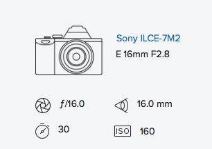 exif data rob moses sony a7ii 16mm fisheye converter