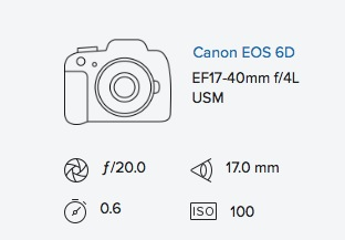 exif data rob moses canon 6d 17-40mm f4