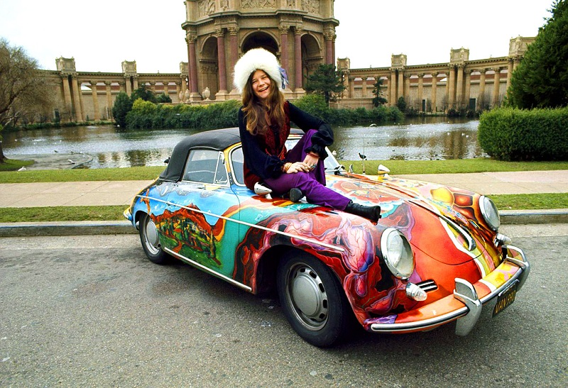 Janis Joplin's Porsche 356