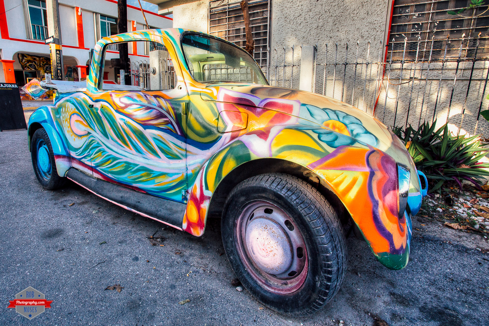 VW volkswagen bug convertable crazy psychedelic paint job Rob Moses Photography Calgary Photographer Photographers Native American Famous un celebrity Tlingit Ojibawa Top Popular Best Good Canadian