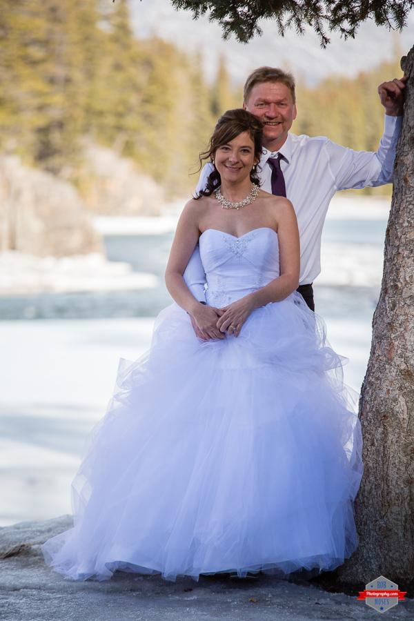 Lisa George Banff Wedding-16