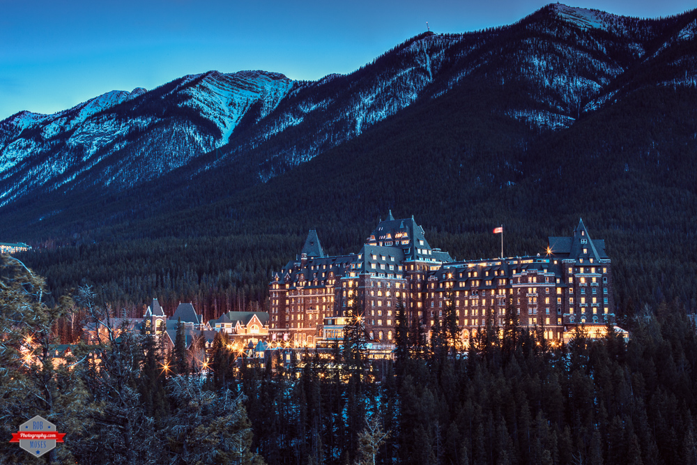 Banff Alberta Canada springs hotel mountain Rob Moses Photography Photographers Native American Famous un celebrity Portland Vancouver Calgary Seattle Tlingit Ojibawa Top Popular Best Good pdx Canadian-2