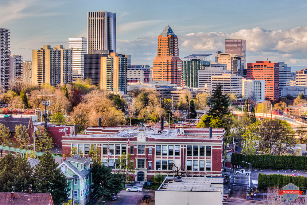City PDX Skyline National College of Natural Medicine NCNM Rob Moses Photography Photographers Native American Famous un celebrity Portland Vancouver Calgary Seattle Tlingit Ojibawa Top Popular Best Good Canadian Failing School