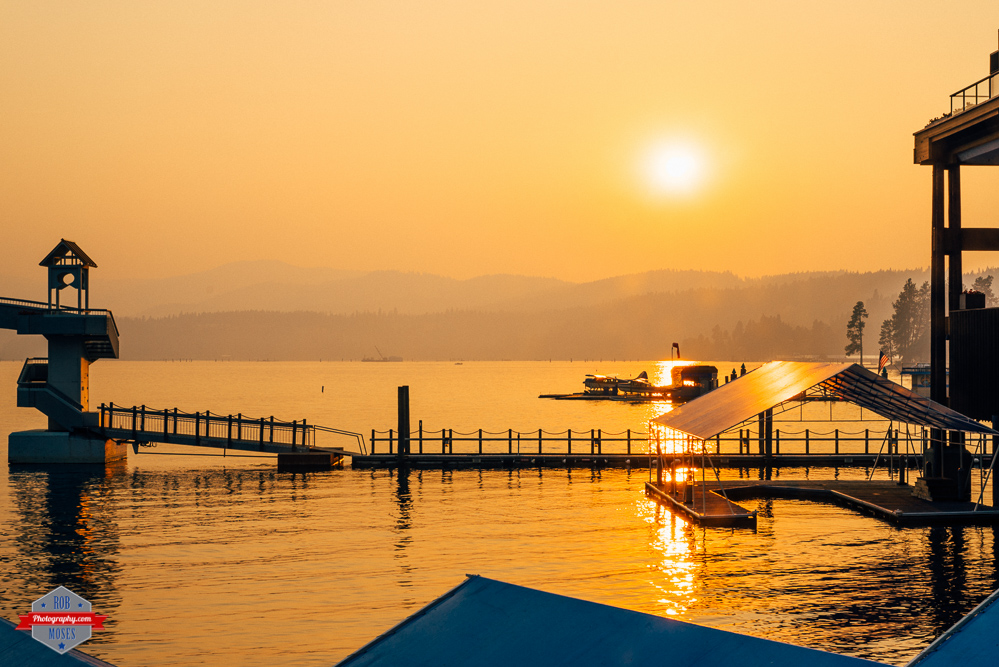 coeur d'alene sunset beautiful pretty amazing lake landscape Rob Moses Photography Photographers Native American Famous un celebrity Portland Vancouver Calgary Seattle Tlingit Ojibawa Top Popular Best Good Canadian pdx